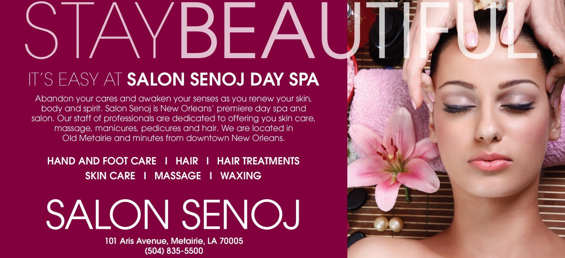 Salon Senoj Day Spa